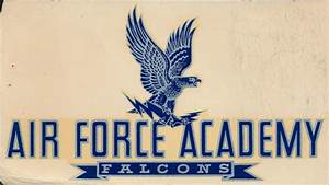 Air Force Academy Falcons Decal