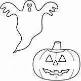 Ghost Coloring Pages Pumpkin Halloween Scary Sheets Drawing Print Lantern Very Real Preschoolers Jack Popular Printable Space Pdf Coloringhome Printables sketch template