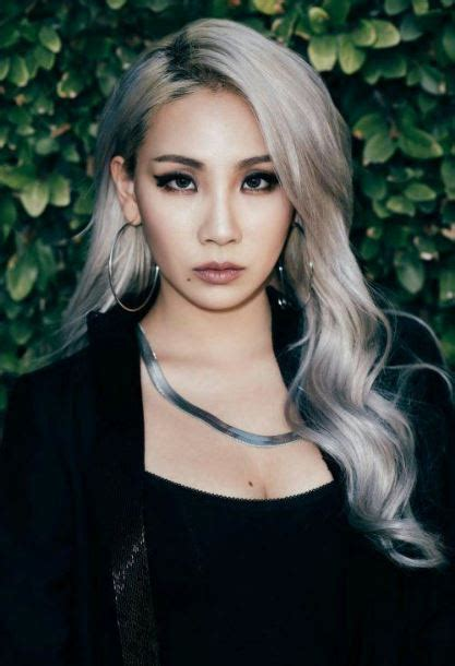 rocks gray hair kpop female edition updated
