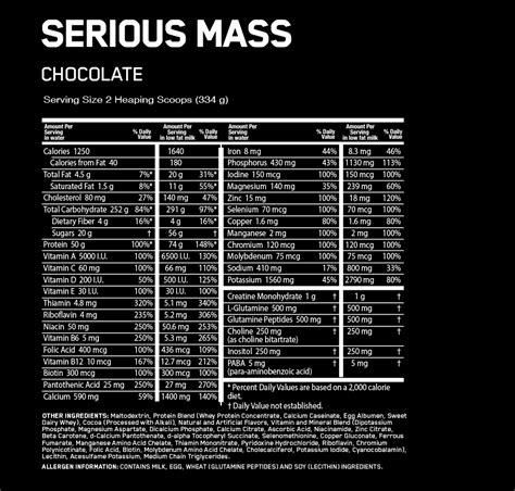 Serious Mass | Optimum Nutrition