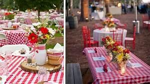 Deco De Table Champetre : idee repas champetre zx75 jornalagora ~ Melissatoandfro.com Idées de Décoration