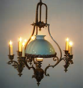 antique chandelier glass dome for sale antiques