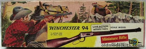 winchester lever action repeater model   scale miniature rifle