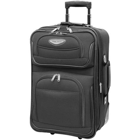 Travel Select Gray Amsterdam Carry-on 21