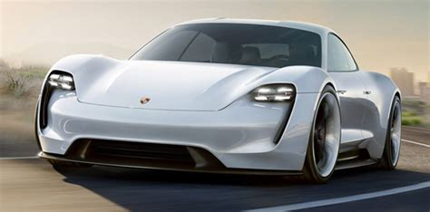 Fully Electric Sports Car by Porsche S Fully Electric Sports Car Is Now Named Taycan