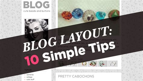 10 blog layout tips a beautiful mess