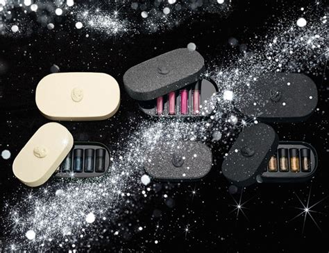 mac objects  affection pigment  lipglass holiday