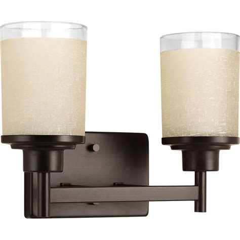 bathroom lighting collections progress lighting collection 2 light antique bronze