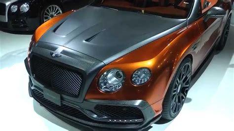 Mansory Car Tuning IAA 2015 - YouTube