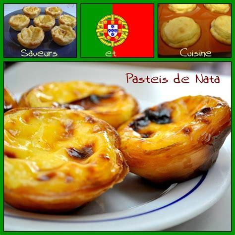 cuisine portugais le pastel de nata une pâtisserie typique du portugal