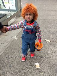 Best 25 ideas about chucky halloween costume find what youll love toddler chucky costume solutioingenieria Choice Image