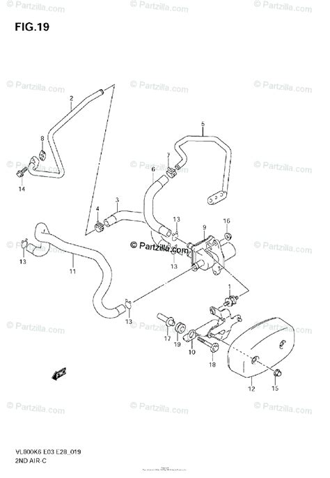 suzuki motorcycle  oem parts diagram   air