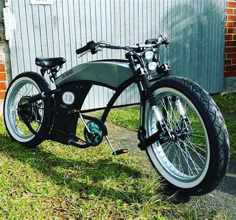 tuning e bike kustom custom basman tuning electric bicycles