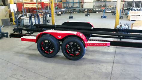 Kmc Boat Trailer Wheels by Trailer Features Marine Master Trailers