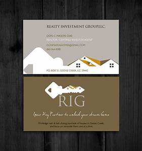 37 Modern Bold Real Estate Business Card Designs for a ...