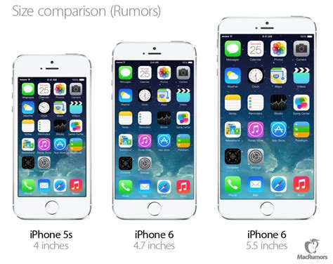 iphone 6 size in inches iphone 6 reportedly launching as early as september in 4