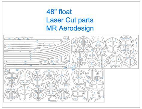 Laser Cut L Plans by Laser Cut Parts Float 48 Quot Aeromodelling Products