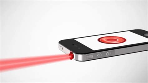iphone laser pointer ipin the world s smallest laser pointer for ios and android