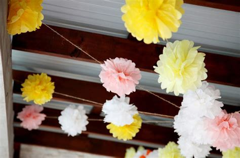 diy tissue paper flowers every last detail