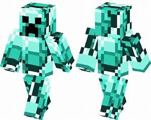 Diamond Creeper | Minecraft Skin | Minecraft Hub