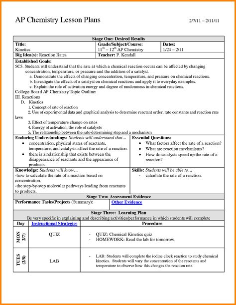 13 exles of backward design lesson plans ledger paper