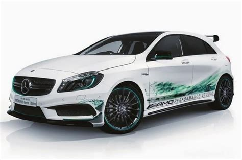 mercedes benz  amg petronas green edition wideo