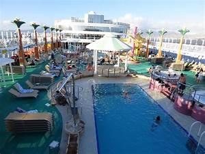 Pool  Spa  Fitness On Norwegian Jade Cruise Ship