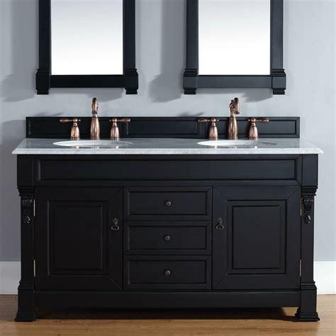 james martin furniture brookfield  double antique black