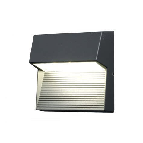 lutec radius square wall light square aluminium wall light with cree led lutec from yesss