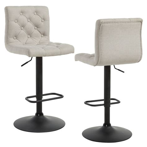 Stool Buy Linon Home D 233 Cor Products Padded Back Faux Leather