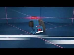 Niveau Laser Plaquiste : niveau laser bosch 3 lignes 360 gll 3 80 p youtube ~ Premium-room.com Idées de Décoration