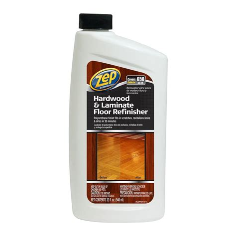 Applying Zep Floor Sealer by Zep 32 Oz Hardwood And Laminate Floor Refinisher Of