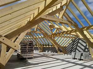 Charpente Traditionnelle Bois En Kit : charpente traditionnelle en kit maison bois ossature bois ~ Premium-room.com Idées de Décoration