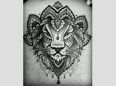 Tatouage Homme Lion Tribal Tattoo Art