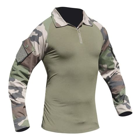 chemise de combat patrol type ubas camouflage kaki