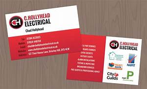 C hollyhead electrical business cards design getsited for Electrician business cards