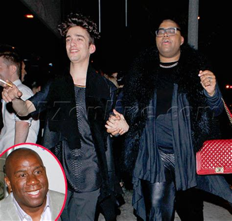 magic johnson speaks   support   gay son ej