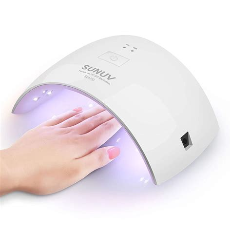 uv nail l 24w led uv nail dryer curing fingernail toenail gels