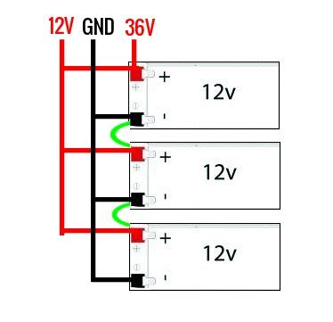 Batteries Wiring Parallel Series Simultaneously