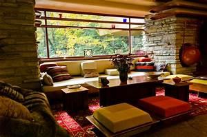 Frank Lloyd Wright Architektur : organische architektur im einklang mit der natur wohnen ~ Orissabook.com Haus und Dekorationen