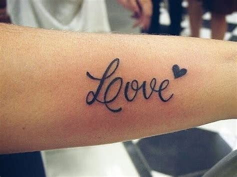 Diy! Temporary Tattoo Love Youtube