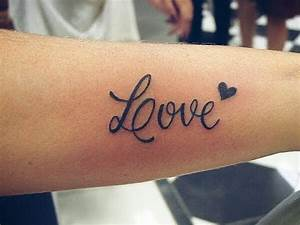 DIY! Temporary tattoo love.. - YouTube