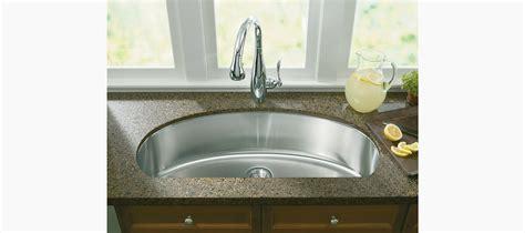 d shaped kitchen sink undertone large d bowl kitchen sink k 3185 kohler 6413
