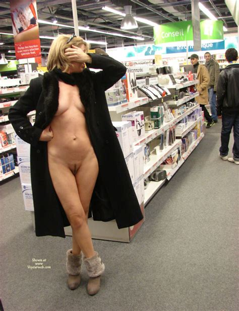 Naked Wife In A Store December 2010 Voyeur Web Hall