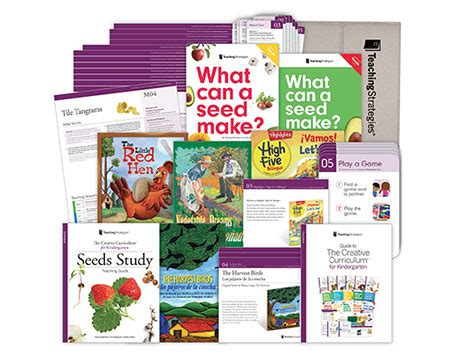 the creative curriculum 174 for kindergarten teaching 251 | The Creative Curriculum® for Kindergarten Seeds Study Mini Kit