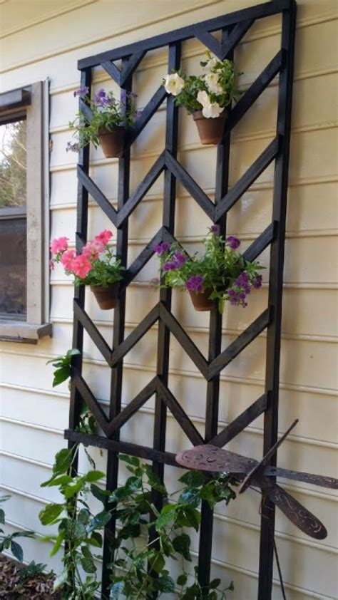 easy diy trellis projects   prop   garden