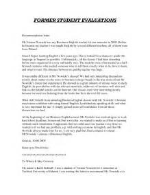 Teacher Recommendation Letter Sample