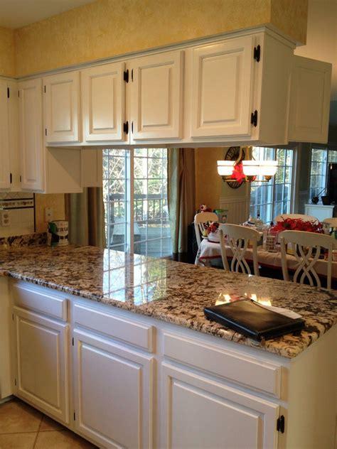 kitchens  white cabinets  granite countertops