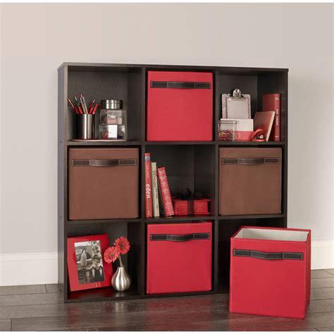 Closetmaid Cube Drawers - closetmaid cubeicals 9 cube organizer espresso ebay
