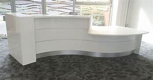 Curved Reception Desk Color — All Home Ideas And Decor